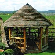 Oakyard Oak Framed Gazebo