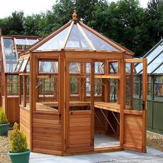 CEDAR PACKAGE DEALS Summerhouse and Greenhouses!