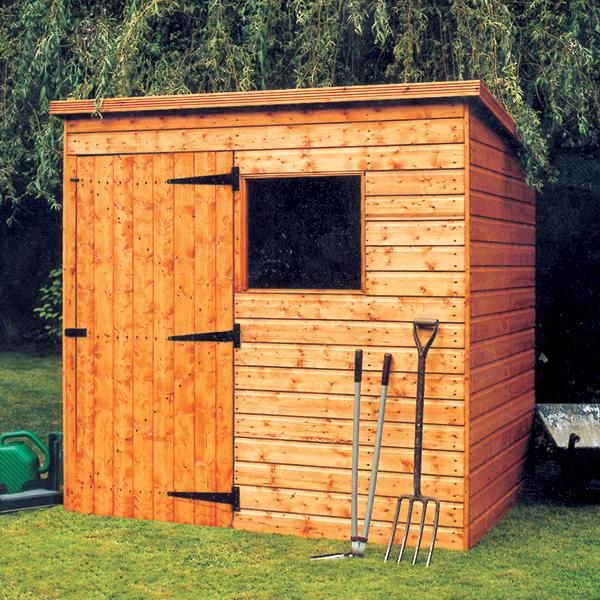Malvern Bewdley Pent Shed