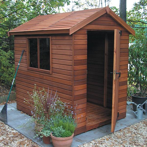 heavy duty apex shed - Garden Sheds 6x4