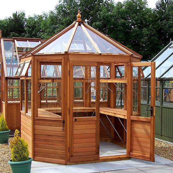 Malvern Suntop Octagonal Greenhouse