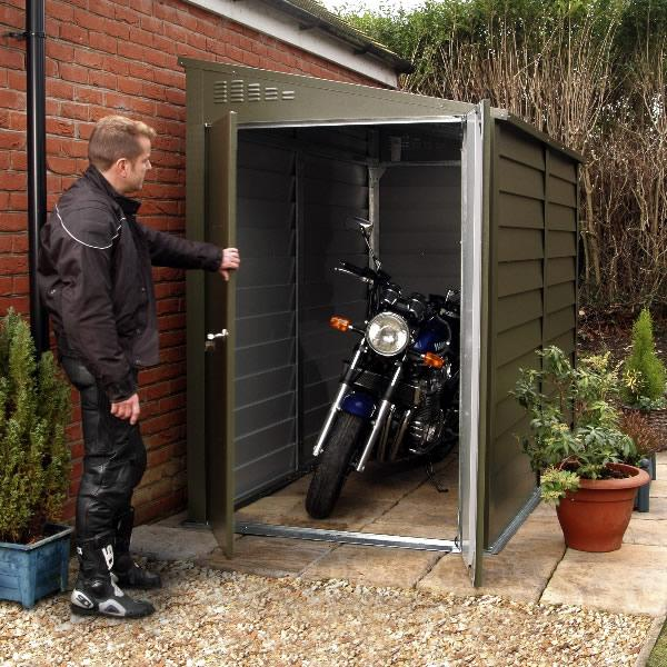 Motorcycle Security Shed
