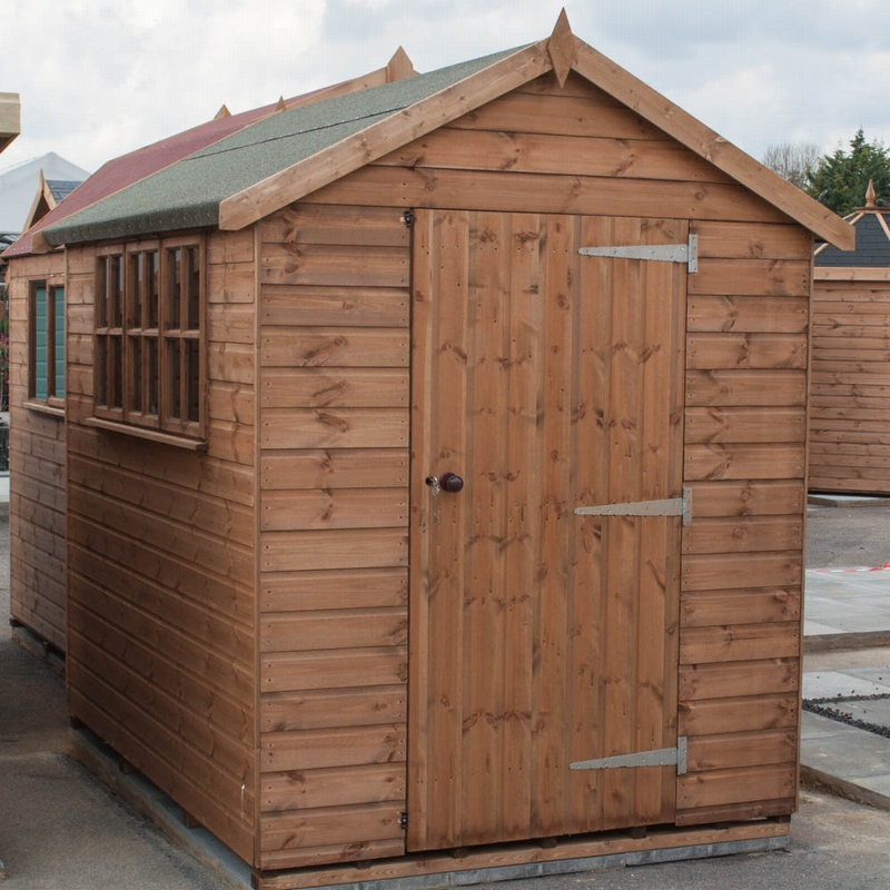 fort alston heavy duty apex shed. Black Bedroom Furniture Sets. Home Design Ideas