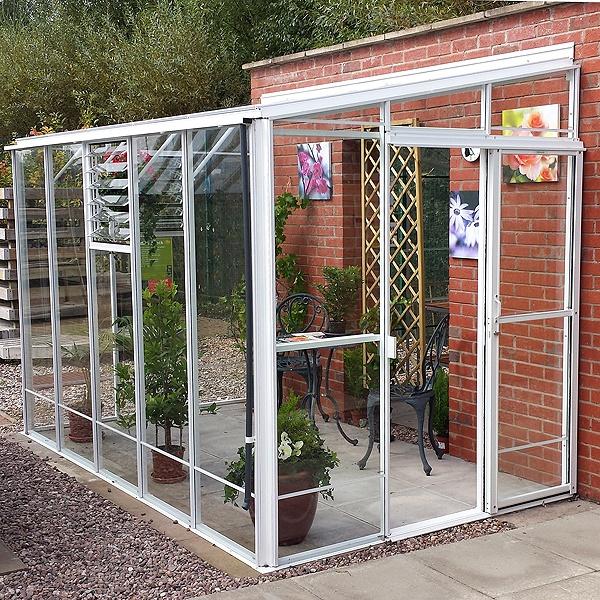 Garden Room Doors: Robinsons Radstock Lean-To Greenhouse