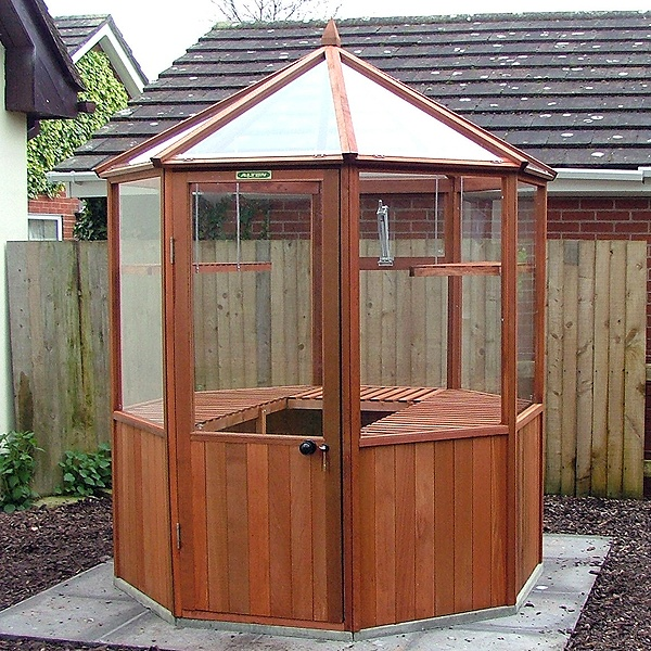 alton octagonal greenhouse