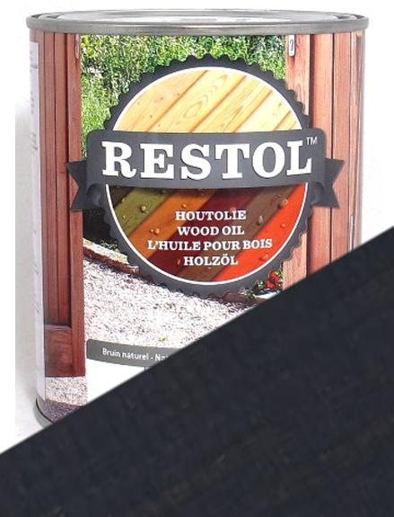 Restol Wood Oil - Anthracite Grey