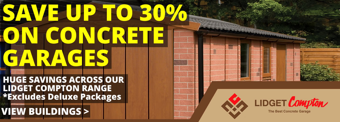 Up to 30% off Concrete Garages