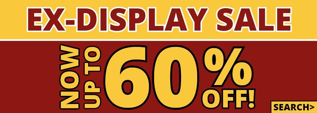 Ex-Display Sale Now On!!