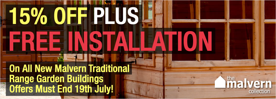 Save up to 15% PLUS FREE INSTALLATION - Offer ends 19th July 2015!!!