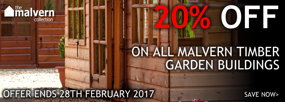 20% OFF all Malvern buildings