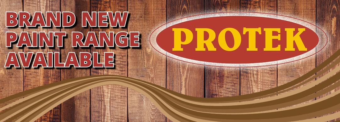 Brand New Paint Range - Protek
