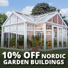 10% OFF Nordic PVCu Buildings