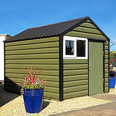 SAVE UP TO �250!!! On all LifeLong Steel Sheds