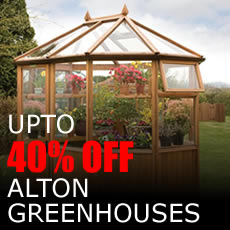 SAVE UP TO 40% on Alton Greenhouses
