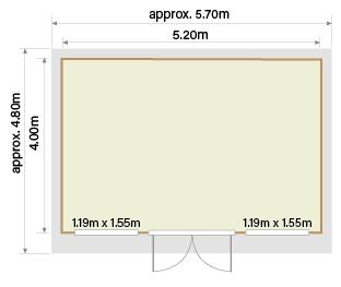 Stenberga - Model ST05 Floor Plan