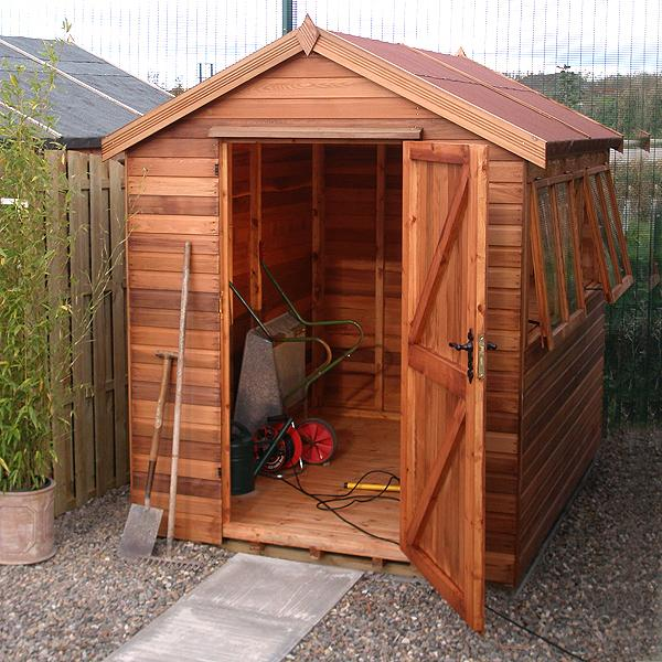Malvern Apex Heavy Duty Shed