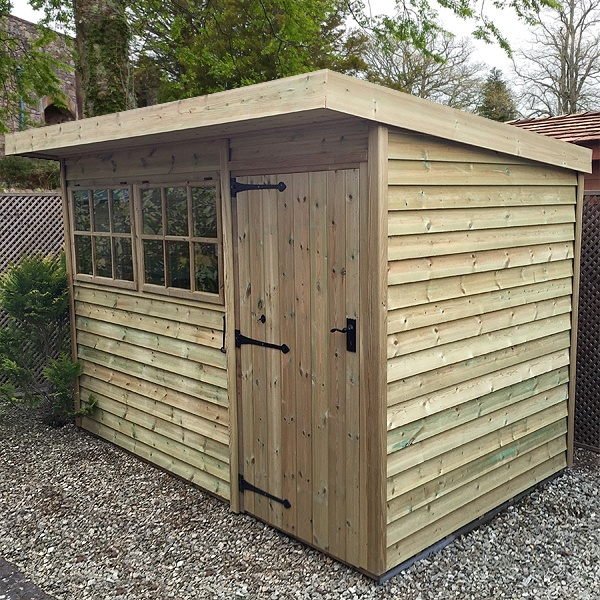 Malvern Timber Holt Pent Shed Gbc Group