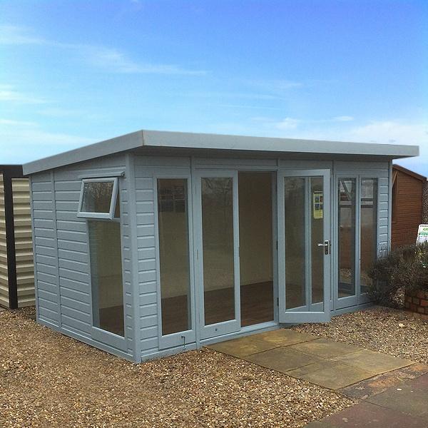 Malvern Studio Pent Garden Room