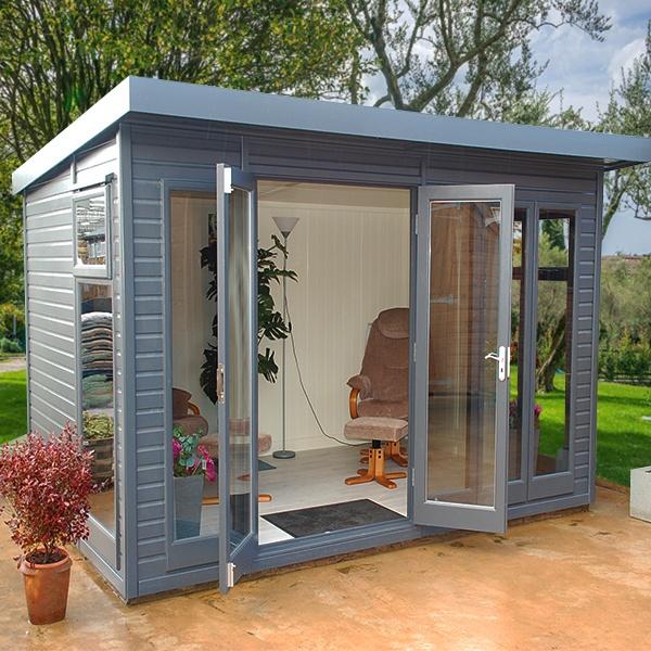 Malvern Studio Pent Garden Room Gbc Group