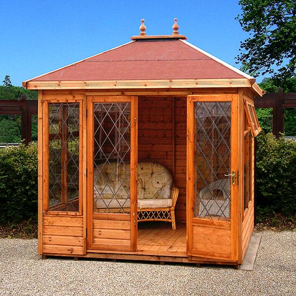 Countryside Hipped Summer House