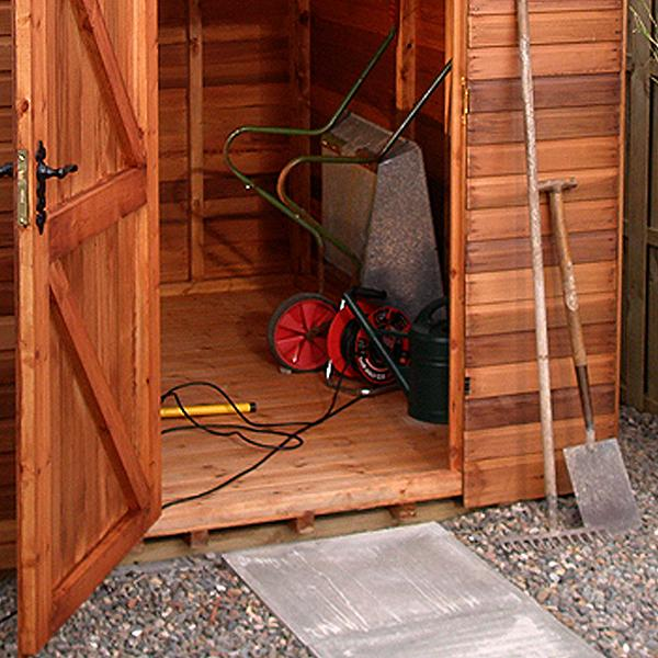 Malvern Heavy Duty Pent Shed