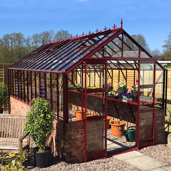Stafford Dwarf Wall Package Deal Greenhouse