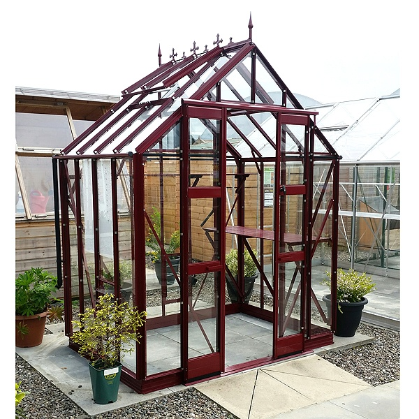 Stafford Glass to Ground Package Deal Greenhouse