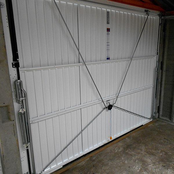 LidgetCompton Advantage White Pent Garage