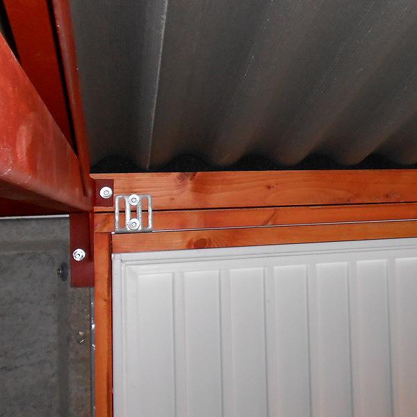 LidgetCompton Advantage White Apex Garage