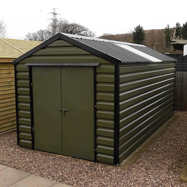 lifelong apex steel shed gbc group. Black Bedroom Furniture Sets. Home Design Ideas