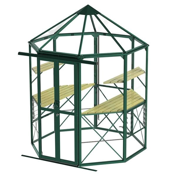 Peak Summit Octagonal Greenhouse