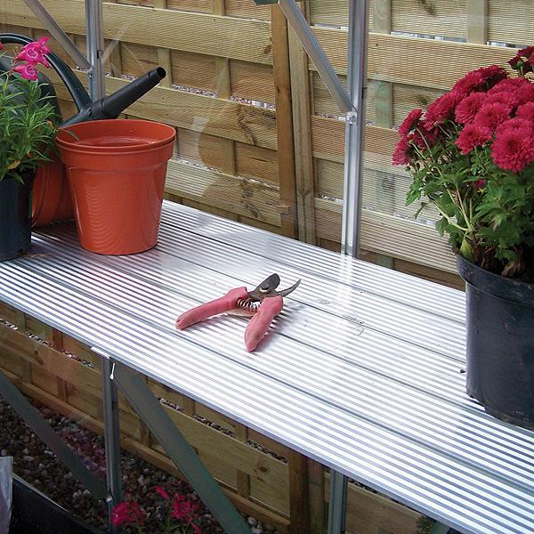 Elite Kensington 4 Lean-To Greenhouse