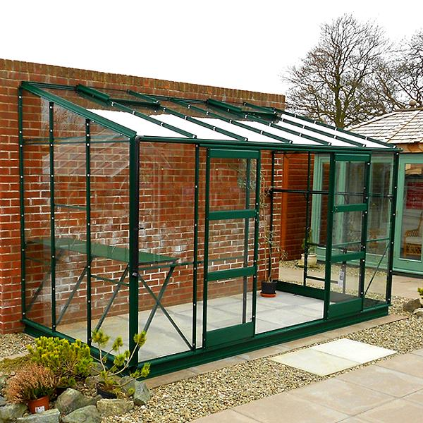 Elite Kensington 6 Lean-To Greenhouse