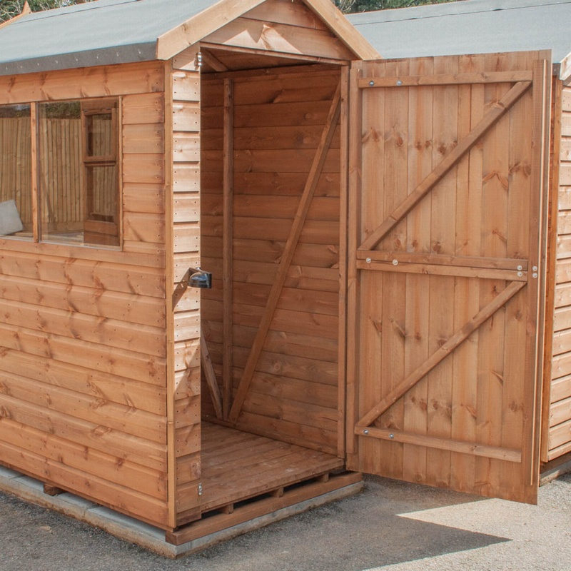 Fort Highdown Apex Shed