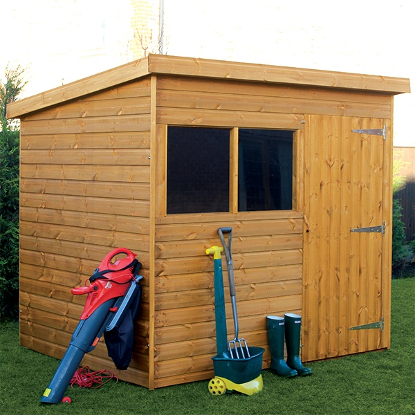 Fort Highdown Pent Shed