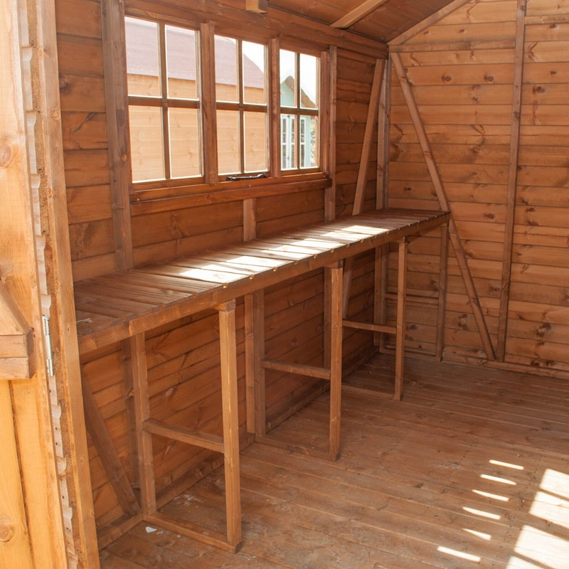 Fort Alston Heavy Duty Apex Shed