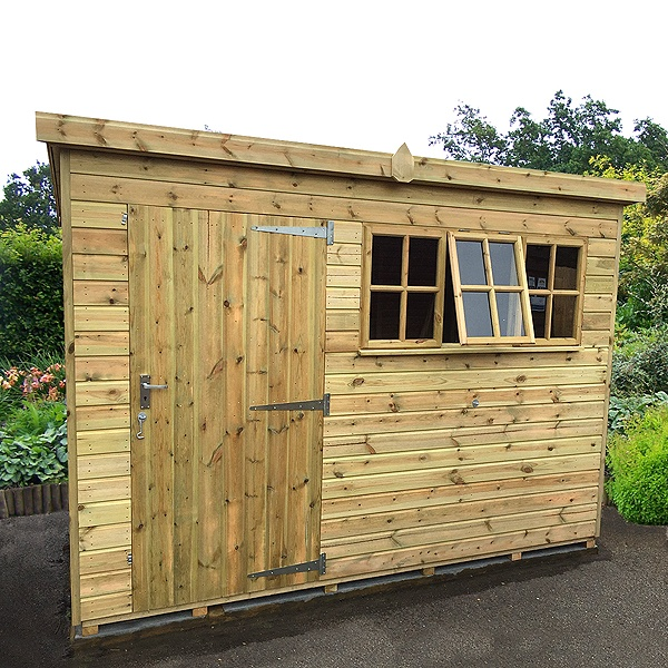 Fort Alston Heavy Duty Pent Shed