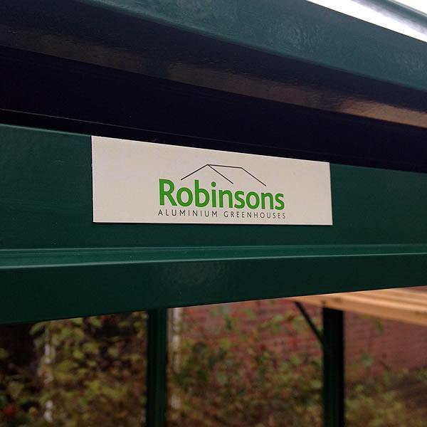 Robinsons Rugby Dwarf Wall Greenhouse