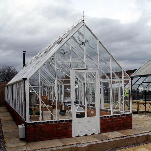 Robinsons Roedean Dwarf Wall Greenhouse