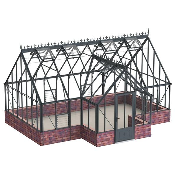 Robinsons Roemoor Dwarf Wall Greenhouse