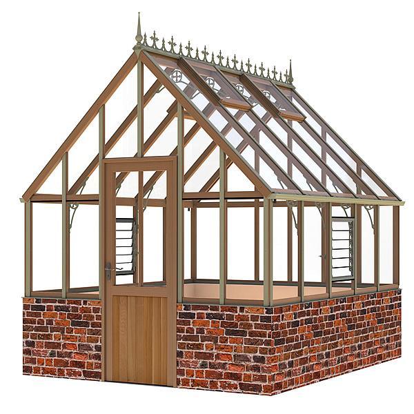 Alton Ellesmere Dwarf Wall Victorian Greenhouse