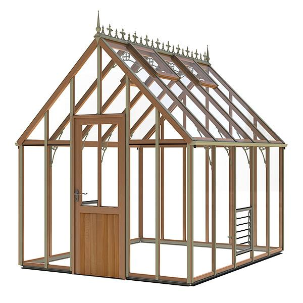 Alton Harrow Glass to Ground Victorian Greenhouse