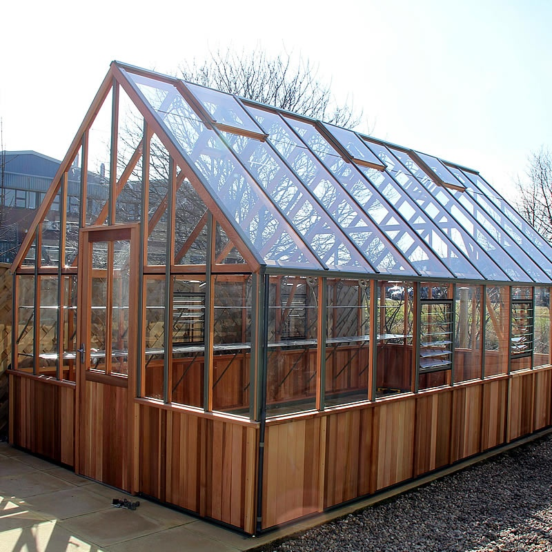Alton Westminster Half Boarded Victorian Greenhouse