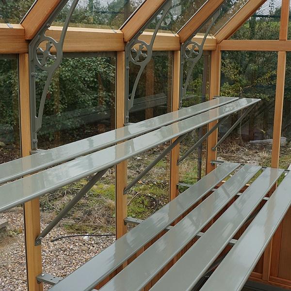 Alton Oakham Dwarf Wall Victorian Greenhouse