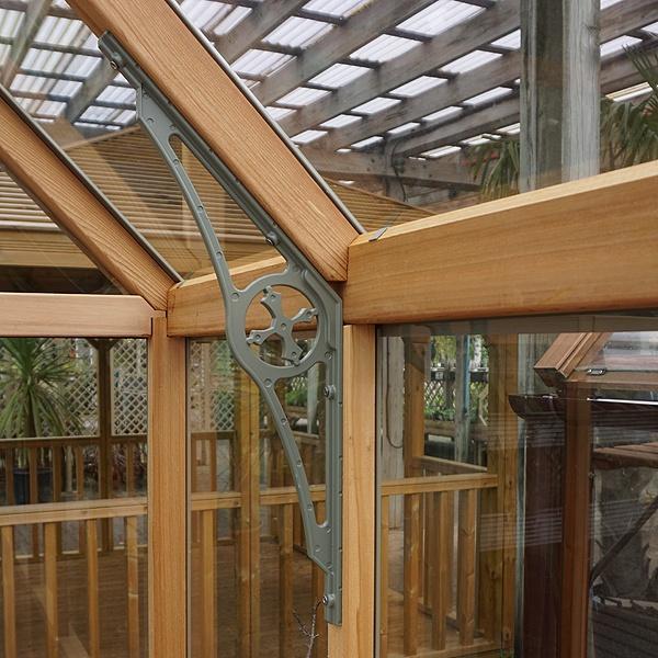 Alton Eton Dwarf Wall Victorian Greenhouse