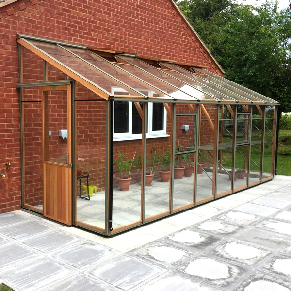 Alton Evolution SIX-LT Lean-To Cedar Greenhouse