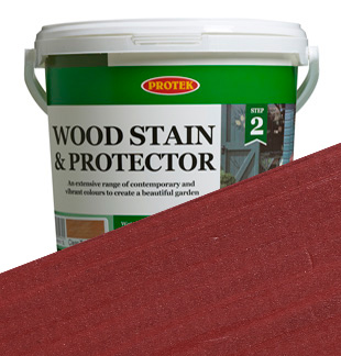 Protek Wood Stain and Protector - Ethnic Red