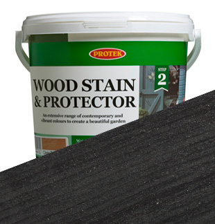 Protek Wood Stain and Protector - Ebony