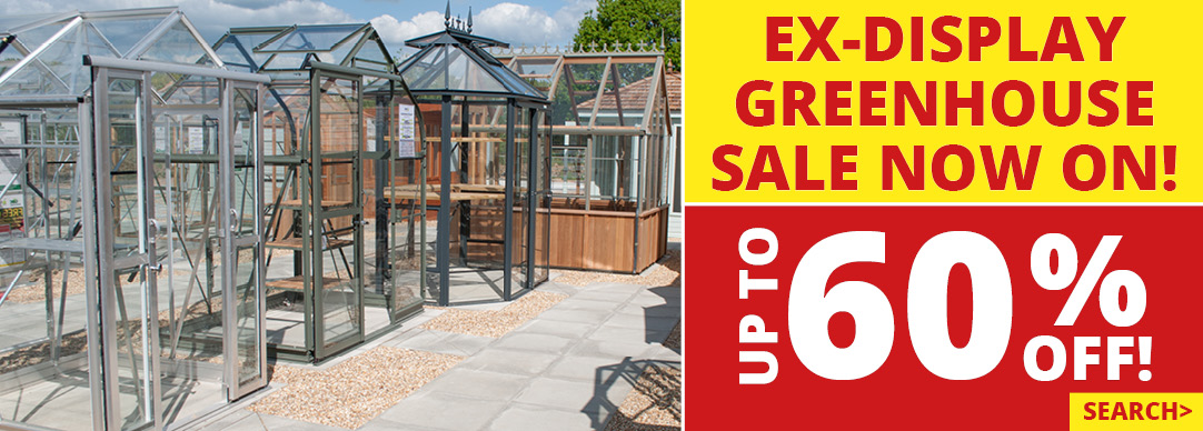 Ex-Display Greenhouse Sale Now On!!