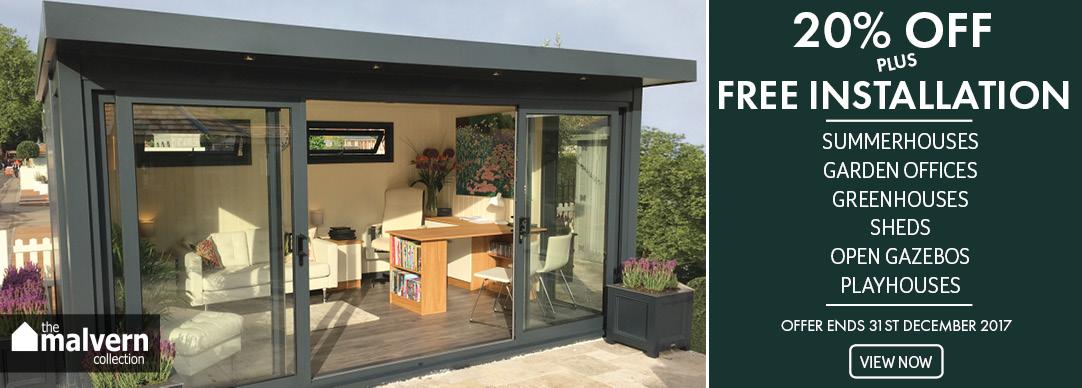 20% OFF plus FREE installation - Malvern traditional range